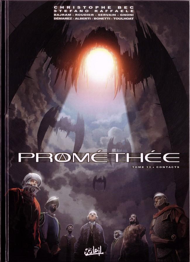 Couverture de Prométhée -13- Contacts