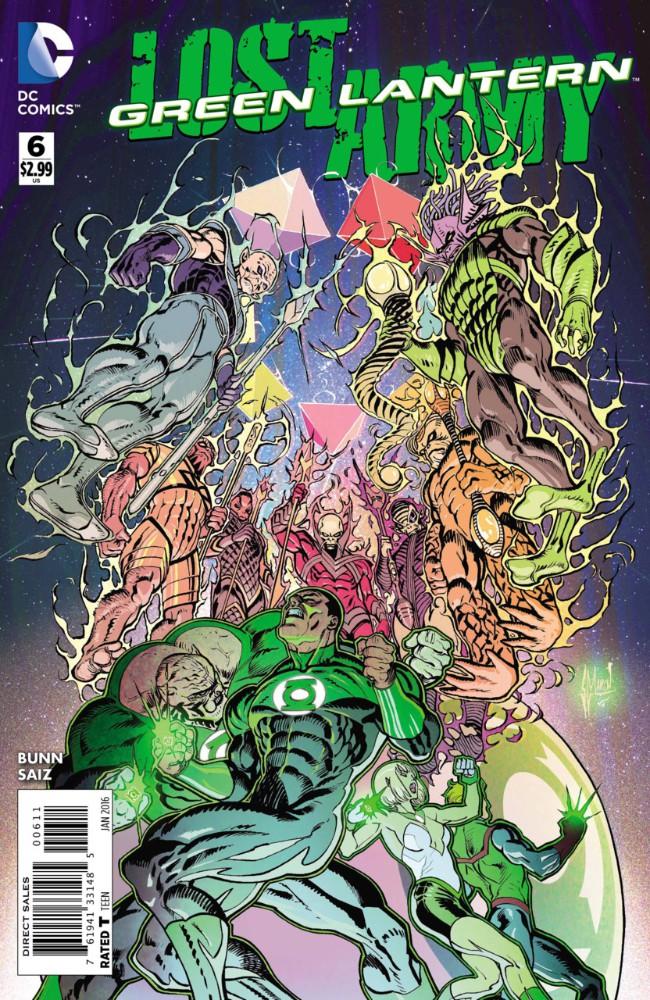 Couverture de Green Lantern: Lost Army (2015) -6- Spectrum