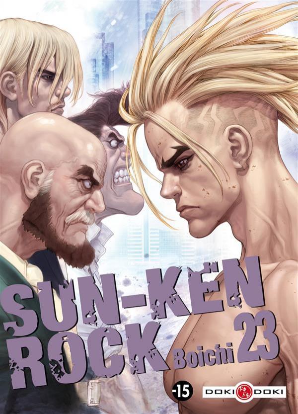 Couverture de Sun-Ken Rock -23- Tome 23