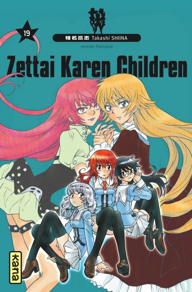 Couverture de Zettai Karen Children -19- Tome 19