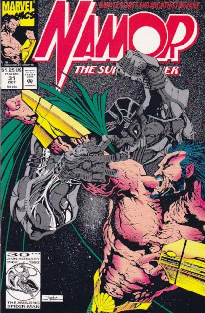 Couverture de Namor, The Sub-Mariner (Marvel - 1990) -31- Plunder