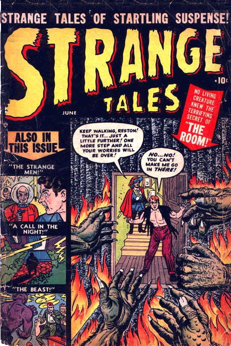 Couverture de Strange Tales (Marvel - 1951) -1- The Strange Men