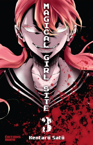 Couverture de Magical Girl Site -3- Tome 3