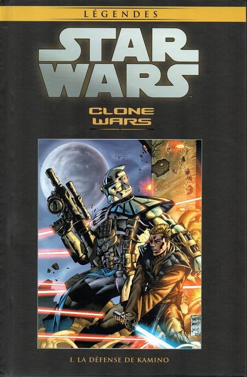Couverture de Star Wars - Légendes - La Collection (Hachette) -526- Clone wars - I. La défense de Kamino