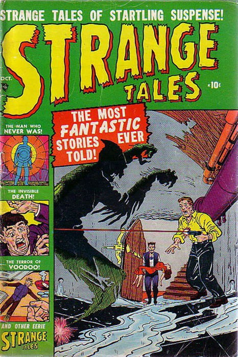 Couverture de Strange Tales (Marvel - 1951) -3- The Shadow
