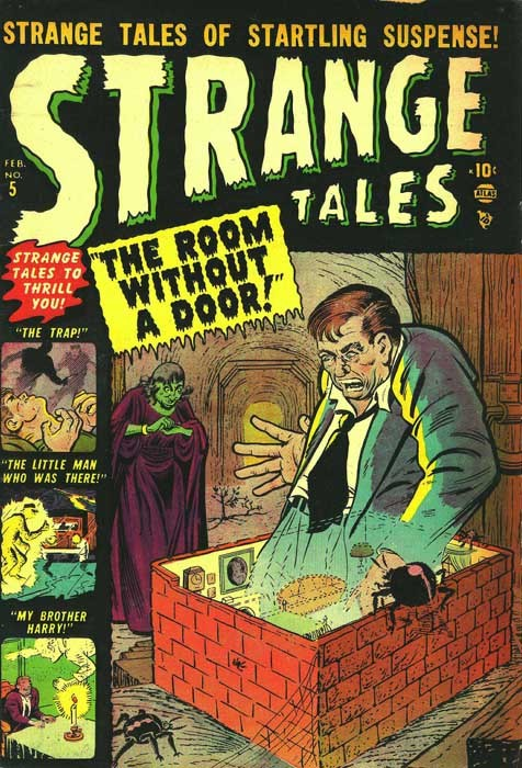 Couverture de Strange Tales (1951) -5- The Room Without a Door