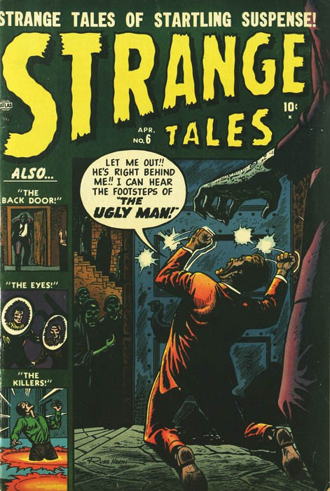 Couverture de Strange Tales (Marvel - 1951) -6- The Ugly Man