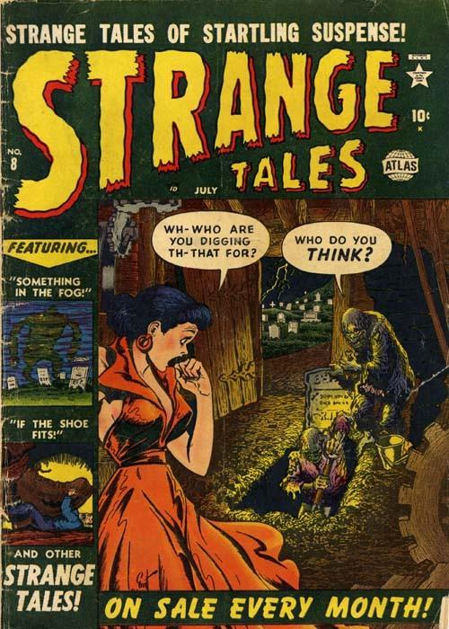 Couverture de Strange Tales (Marvel - 1951) -8- Something In The Fog