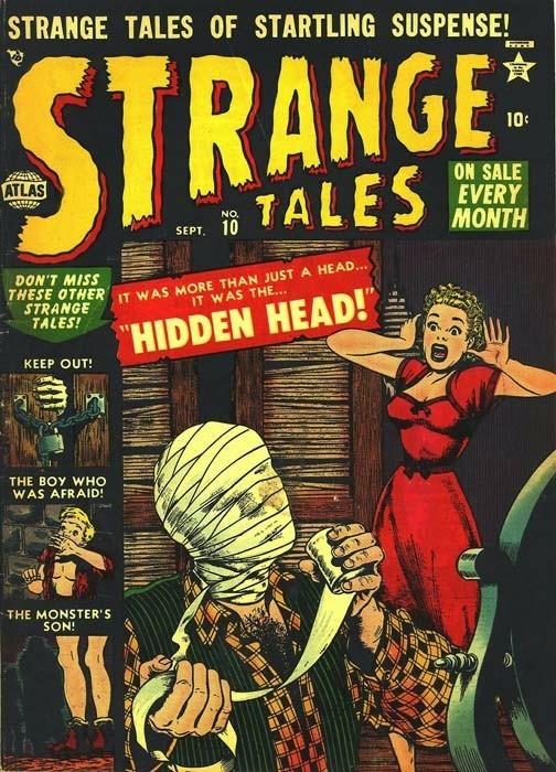 Couverture de Strange Tales (Marvel - 1951) -10- Hidden Head
