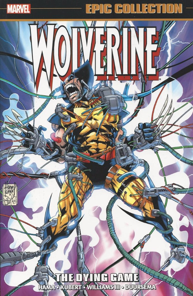 Couverture de Wolverine Epic Collection (2014) -INT08- The Dying Game