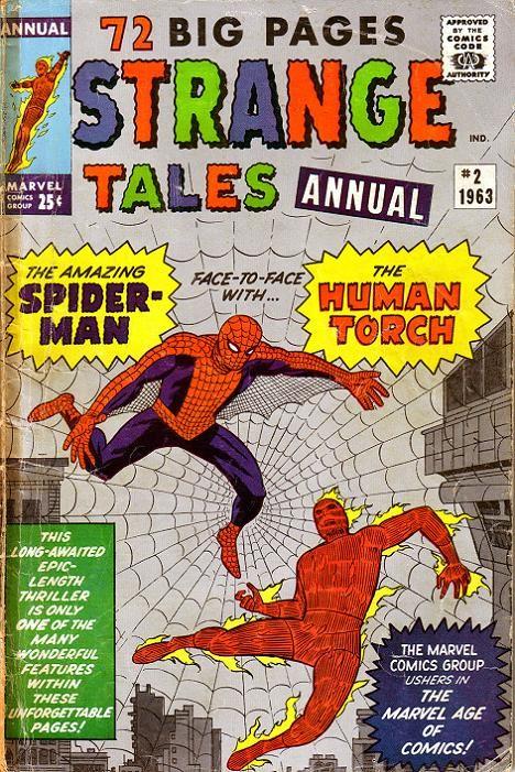 Couverture de Strange Tales (Marvel - 1951) -ANN02- The big Strange Tales annual 2