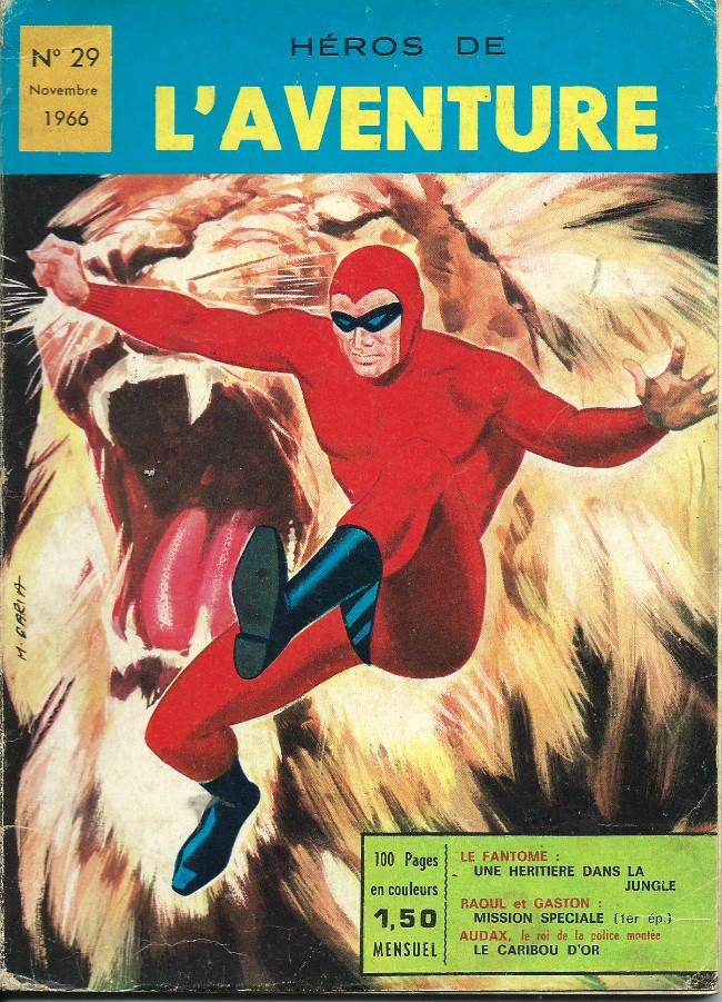 Couverture de Les héros de l'aventure (Classiques de l'aventure, Puis) -29- Le Fantôme : Une héritière dans la jungle