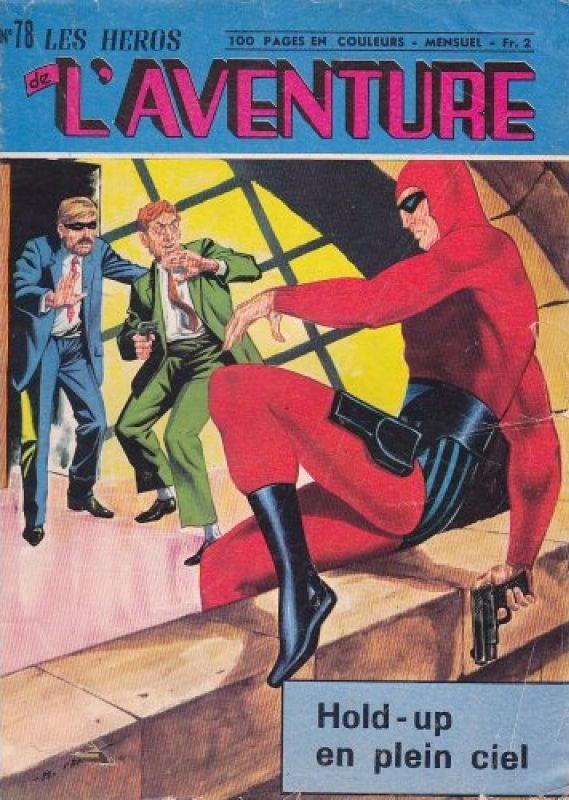 Couverture de Les héros de l'aventure (Classiques de l'aventure, Puis) -78- Le Fantôme : Hold-up en plein ciel