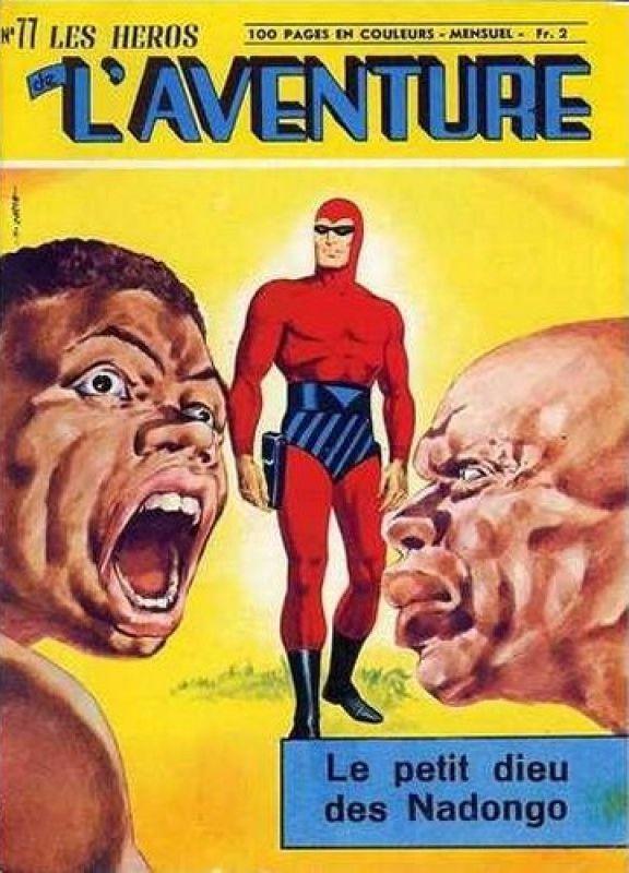 Couverture de Les héros de l'aventure (Classiques de l'aventure, Puis) -77- Le Fantôme : Le petit dieu des Nadongo