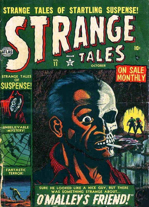 Couverture de Strange Tales (1951) -11- O'Malley's Friend