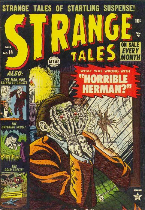 Couverture de Strange Tales (Marvel - 1951) -14- Horrible Herman