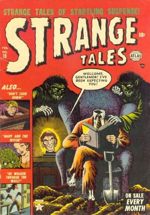Couverture de Strange Tales (Marvel - 1951) -15- Mary and the Witch