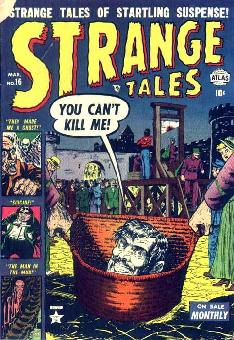 Couverture de Strange Tales (1951) -16- You Can't Kill Me!