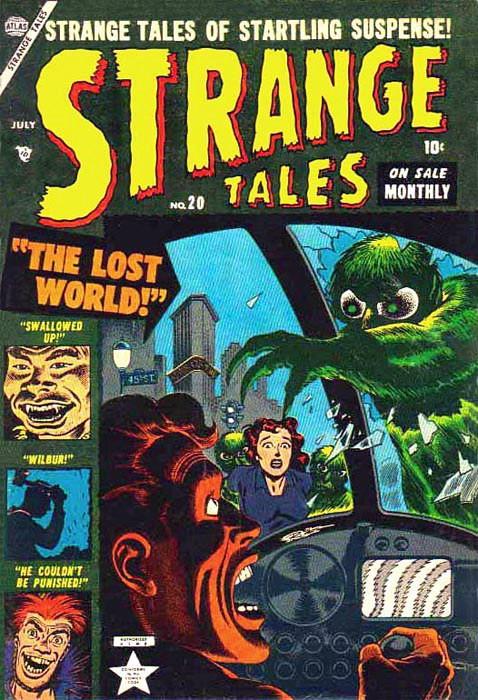 Couverture de Strange Tales (1951) -20- The Lost World!
