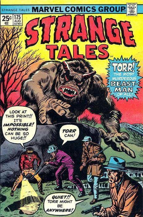 Couverture de Strange Tales (1951) -175- Torr!