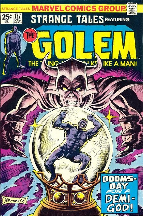 Couverture de Strange Tales (Marvel - 1951) -177- Dooms-Day For A Demi-God!