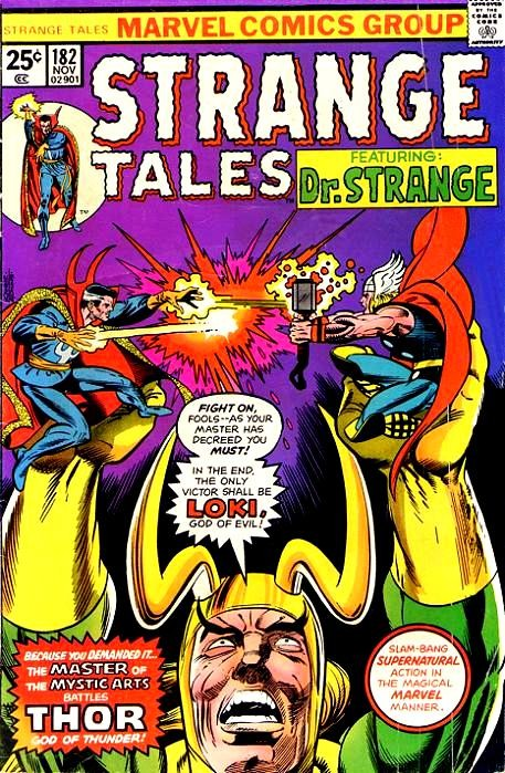 Couverture de Strange Tales (1951) -182- The Challenge of Loki / The Lady From Nowhere