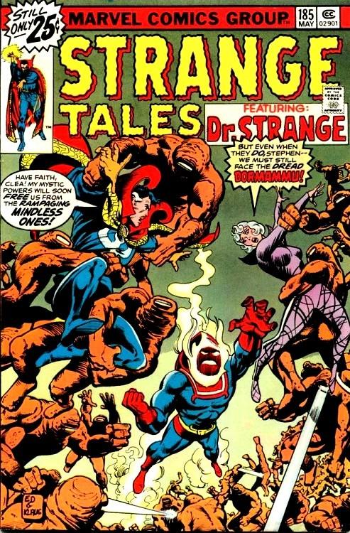 Couverture de Strange Tales (Marvel - 1951) -185- Earth Be My Battleground / Eternity Beckons