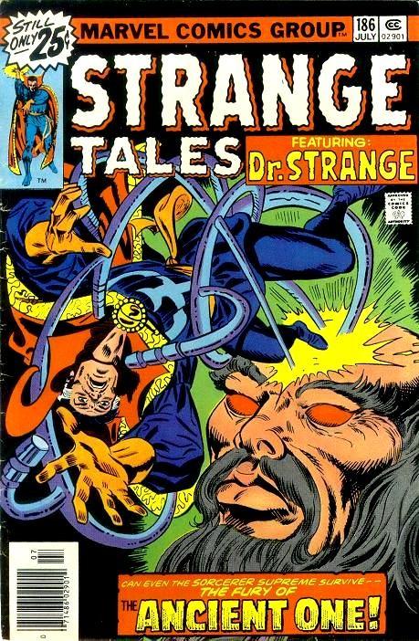 Couverture de Strange Tales (Marvel - 1951) -186- What Lurks beneath the Mask / When Meet the Mystic Minds