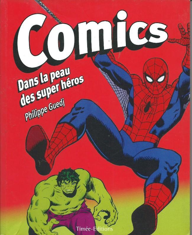 Couverture de (DOC) Études et essais divers - Comics - Dans la peau des super héros