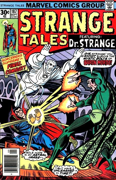 Couverture de Strange Tales (Marvel - 1951) -187- If Eternity Should Fail / Beware, Dormammu is Watching