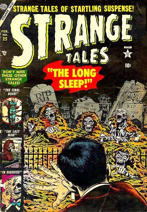 Couverture de Strange Tales (Marvel - 1951) -25- The Long Sleep