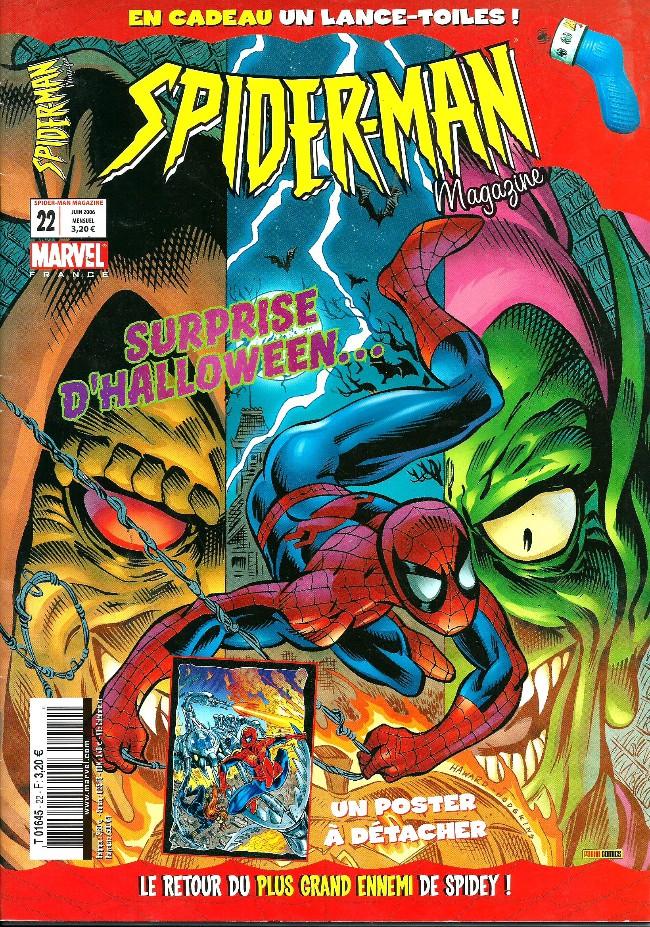 Couverture de Spider-Man (Magazine 4e série) -22- La surprise d'Halloween