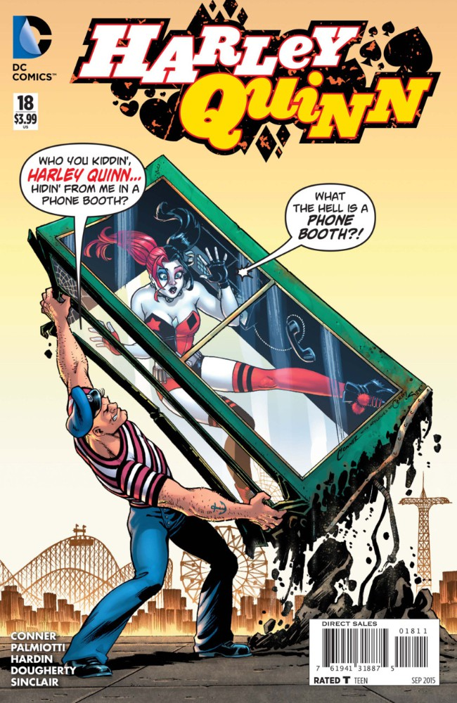 Couverture de Harley Quinn (2014) -18- Fish Food