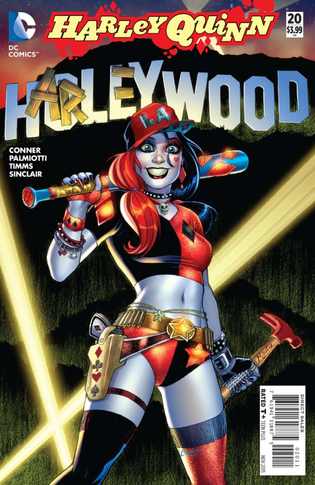 Couverture de Harley Quinn (2014) -20- Harleywood
