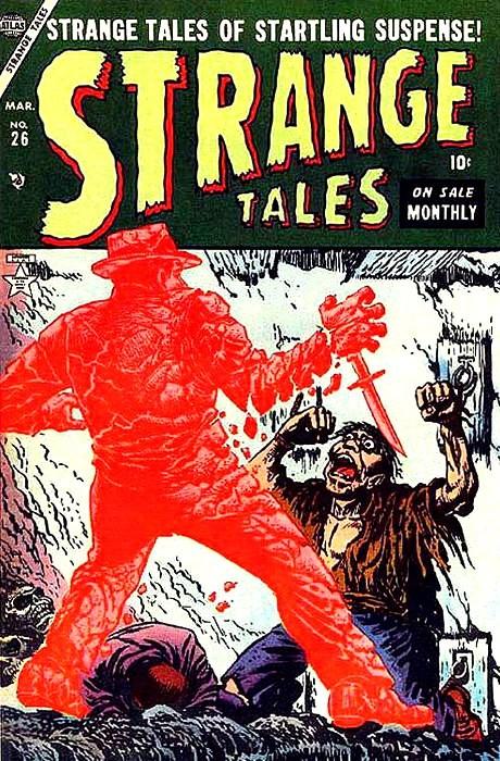 Couverture de Strange Tales (1951) -26- The Last Stop
