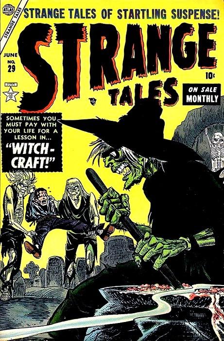 Couverture de Strange Tales (1951) -29- Witchcraft