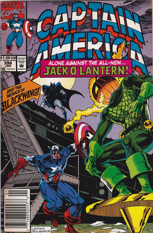 Couverture de Captain America (Marvel comics - 1968) -396- Trick or treat