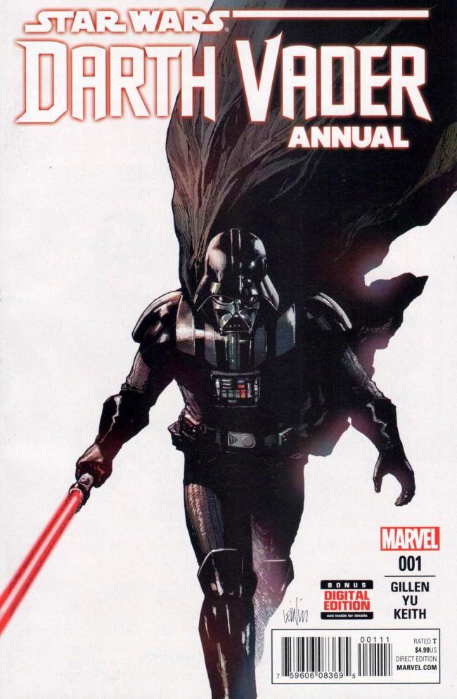Couverture de Darth Vader (2015) -AN01- Darth Vader Annual