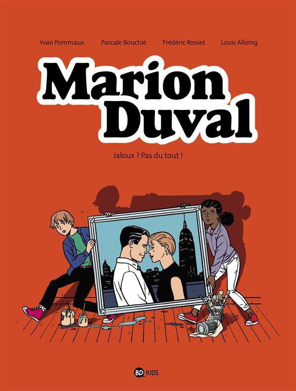Couverture de Marion Duval -25- Jaloux ? pas du tout !