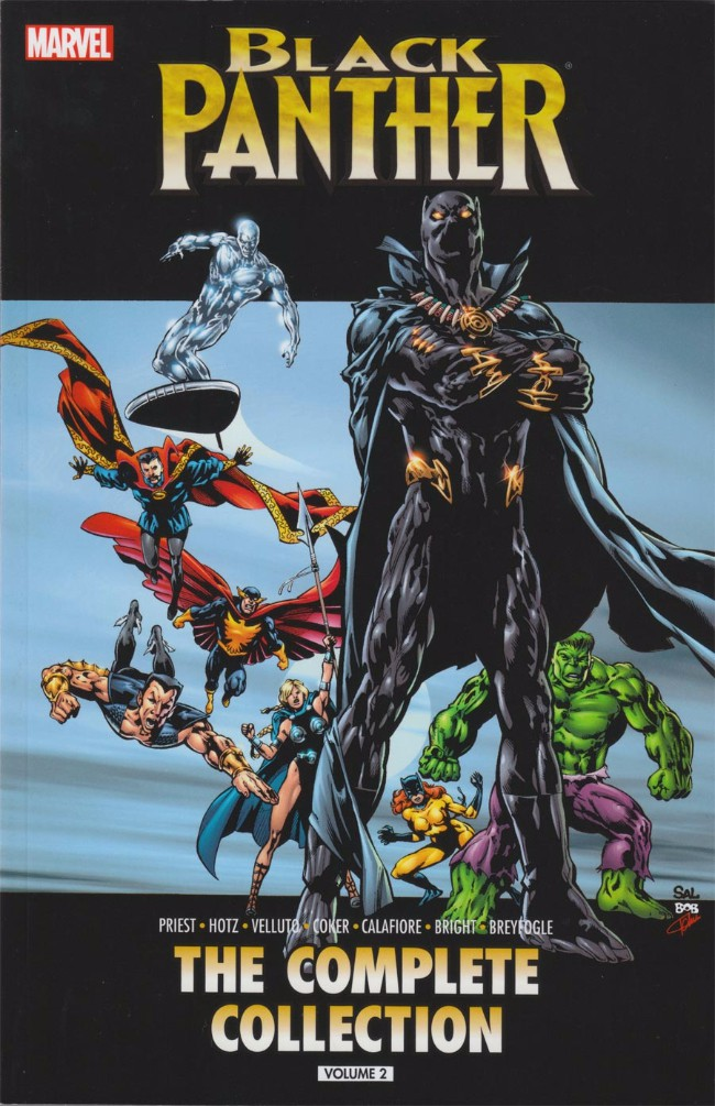 Couverture de Black Panther Vol.3 (Marvel - 1998) -INTC02- by Christopher Priest: The Complete Collection Volume 2