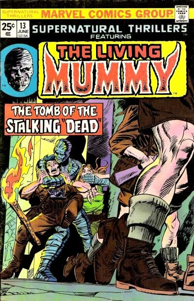 Couverture de Supernatural Thrillers (Marvel - 1972) -13- The Tomb of the Stalking Dead