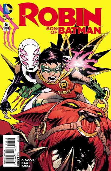 Couverture de Robin: Son of Batman (2015) -6- Year Of Blood - Part Six