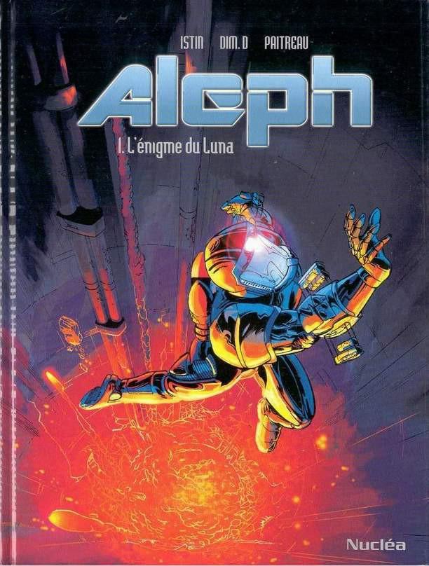 Couverture de Aleph (Dim. D) -1- L'énigme du Luna