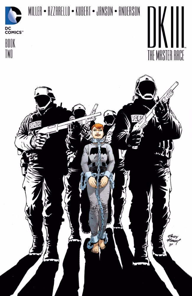Couverture de Dark Knight III: The Master Race (2016) -2- Book Two