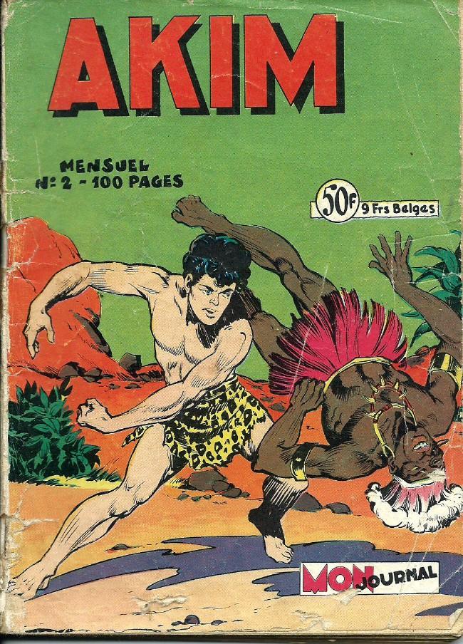 Couverture de Akim (1re série) -2- Le règne de l'inconnu