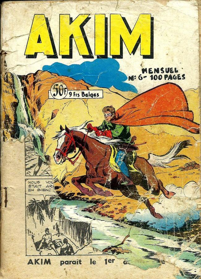 Couverture de Akim (1re série) -6- numéro 6