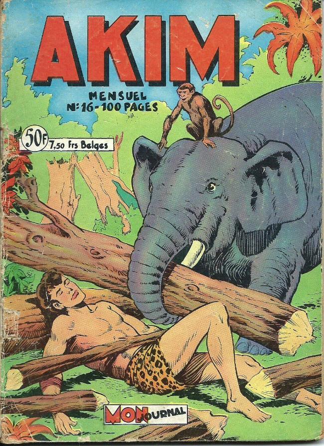 Couverture de Akim (1re série) -16- numero 16