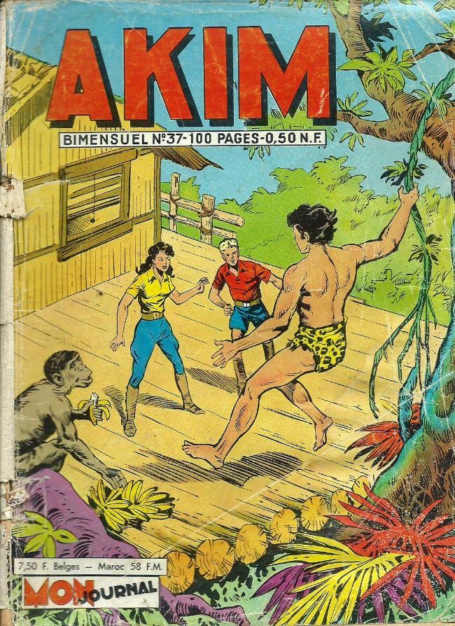 Couverture de Akim (1re série) -37- La pierre éblouissante