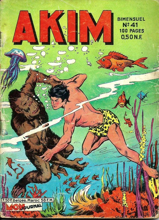 Couverture de Akim (1re série) -41- Les géants de la forêt morte