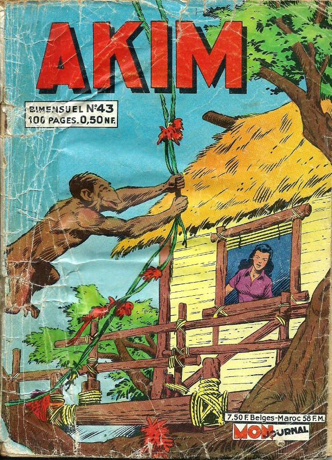 Couverture de Akim (1re série) -43- Le départ de Gunar